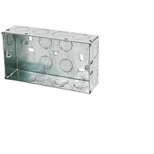Galvanised-Steel-Knockout-Box-2G-35mm